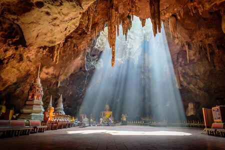 Khao Luang cave in Phetchaburi, Thailand Stock Photo