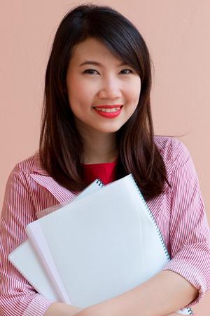 business asia: sorriso affari ragazza dell'Asia