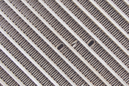 car grill: Old car radiator grill texture, taken as a background.