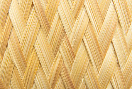 oneself: The woven bamboo is produced by oneself according to the wisdom of rural Thailand.