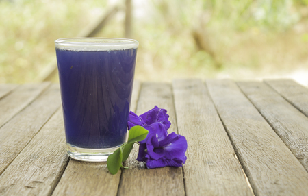 Butterfly Pea Juice have properties that make the body healthy. Build immunity for the body Anti-oxidants Help slow down aging Helps nourish the body, nourish the brain and reduce the risk of cancer. Imagens