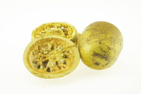 Bael fruit has medicinal properties Has an astringent but sweet taste Used as a cure for chronic diarrhea. Help nourish the body And also helps to expel phlegm