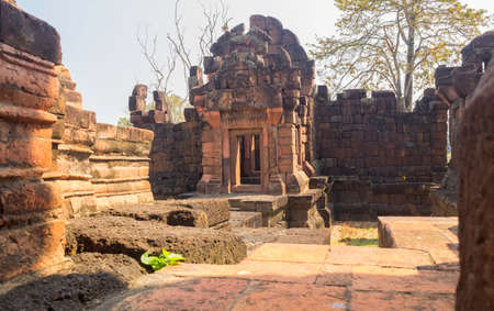 Prasat Pueai Noi is a place famous for its tourism of Khon Kaen Province, Thailand 新闻类图片