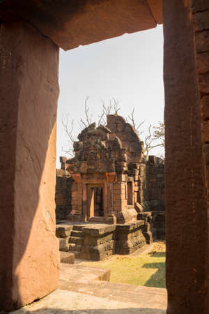 Prasat Pueai Noi is a place famous for its tourism of Khon Kaen Province, Thailand 免版税图像 - 159625689