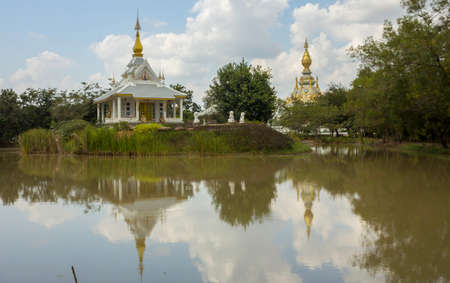 Wat Thung Setthee is a famous Buddhist attraction and Buddhist merit site in Khon Kaen, Thailand.