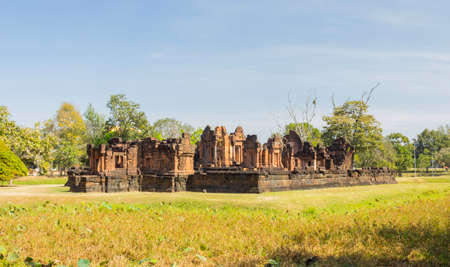 Prasat Pueai Noi is one of the most beautiful sinful Khmer art sites in Khon Kaen, Thailand.