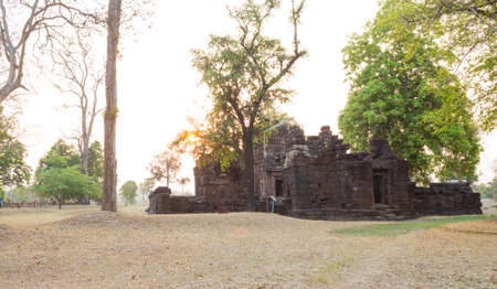 Ku santarat is the oldest and famous archaeological site of Maha Sarakham Province, Thailand.