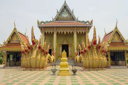 Wat Sri Bueng Bun is a famous and beautiful temple of Sisaket Province, Thailand.
