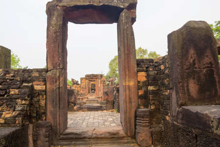 Ku Ka Sing is a famous Khmer architectural archaeological site of Roi Et Province, Thailand.
