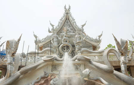 Wat Ban Dan is a famous and beautiful architecture of Sisaket Province, Thailand.