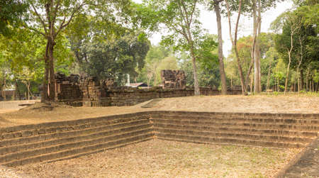 Ku Kantanam is a famous Khmer architectural archaeological site of Roi Et Province, Thailand.