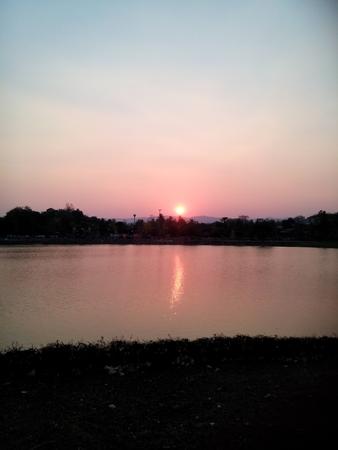 good evening: The sun good evening, Background