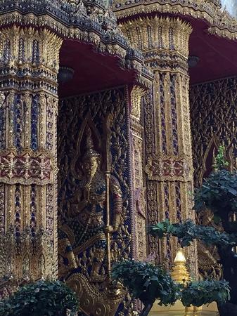 Thai temple pattern Standard-Bild - 106325689