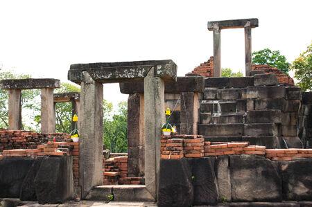 korat: Ancient temple Non-gu in Nakorn Ratchasima , Korat , Thailand