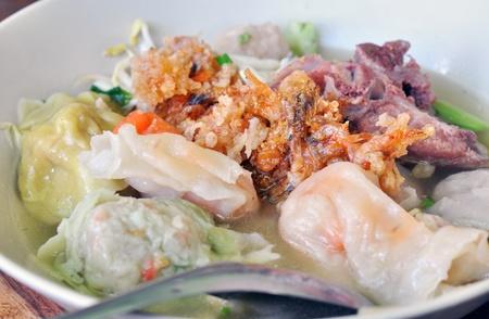 dumpling soup photo