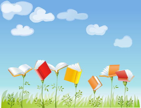 clouds: garden: a garden where they grow books
