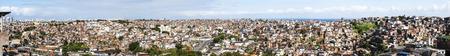 disadvantaged: Panoramic view of Salvador in Bahia, Brazil