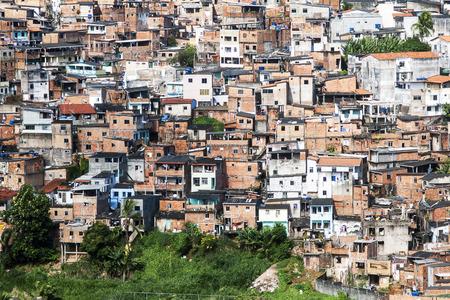 disadvantaged: Poor neighborhood of Salvador Bahia, Brazil