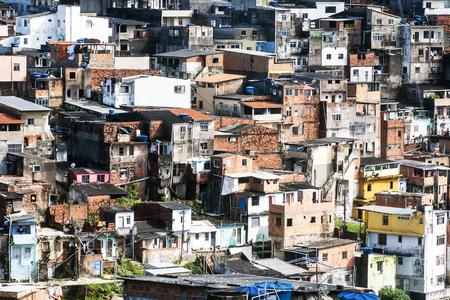 penury: Poor neighborhood of Salvador Bahia, Brazil