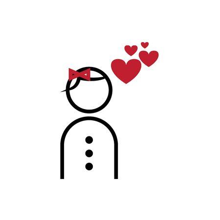 valentines icon Illustration