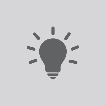 halogen: Light Bulb line icon vector. Idea sign, solution, thinking concept. Lighting Electric lamp. Electricity, shine