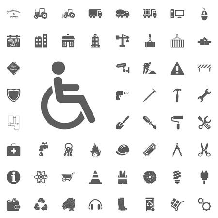 Wheelchair icon.