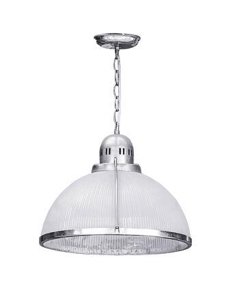 Lámpara colgante aislado en un fondo blanco
