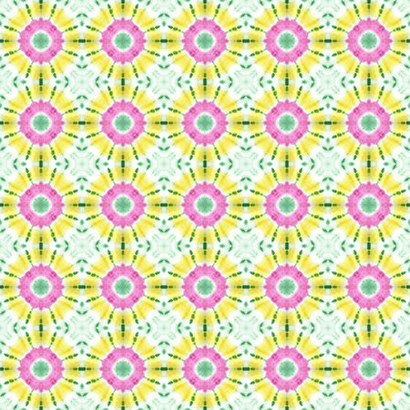 Seamless pattern made from tie dye fabric.