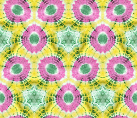Background pattern made from tie dye fabric.