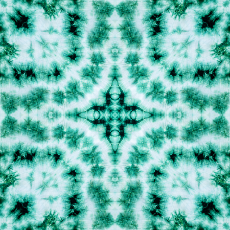 Background pattern made from tie dye fabric. photo