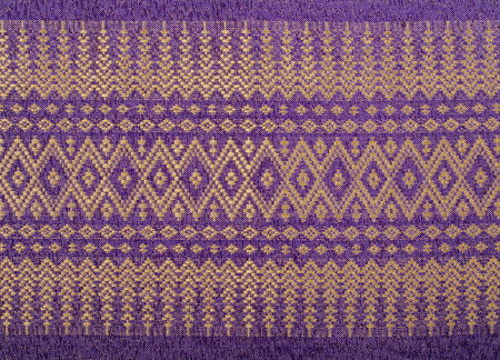 Traditional thai sarong pattern for a background.