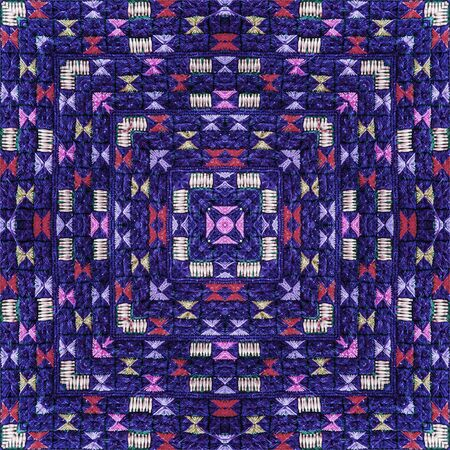 design pattern: Abstract background pattern made from traditional woven cloth, endless pattern for wallpaper.