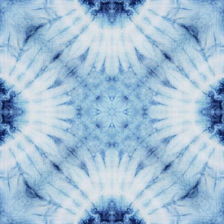 布染めネクタイ、壁紙の無限のパターンから作られた抽象的な背景パターン。