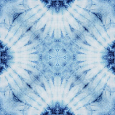 Abstract background pattern made from tie dye fabric, endless pattern for wallpaper. Stok Fotoğraf - 40732986