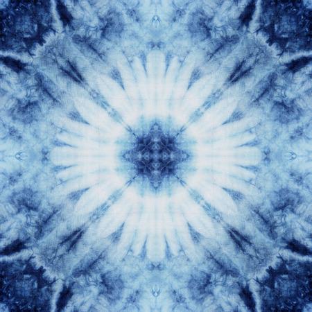 넥타이 염색 직물, 벽지 끝없는 패턴에서 만든 추상 배경 무늬입니다.
