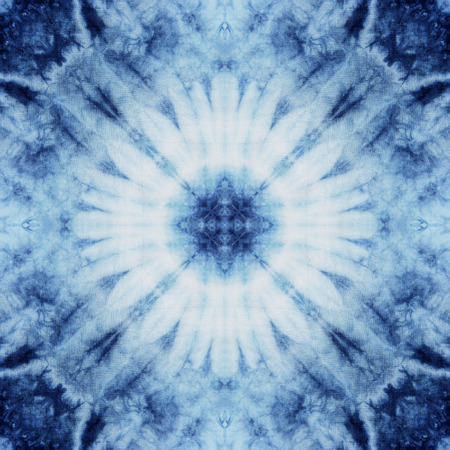Abstract background pattern made from tie dye fabric, endless pattern for wallpaper. Imagens - 40732991