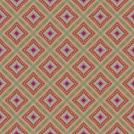 Abstract background pattern made from traditional woven cloth, endless pattern for wallpaper.