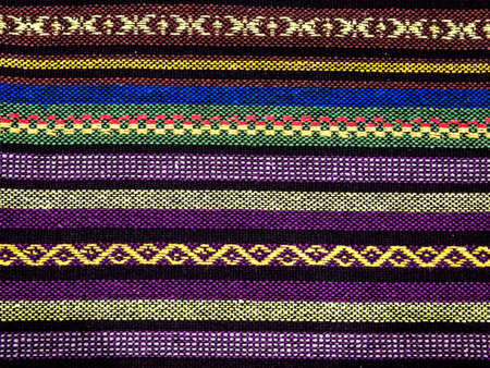 sarong: Closeup traditional thai sarong pattern for a background.