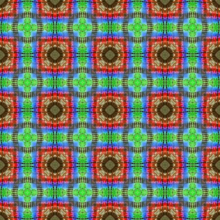 spectral colour: Abstract background pattern made from tie dye fabric,  kaleidoscope  pattern, endless pattern for wallpaper.