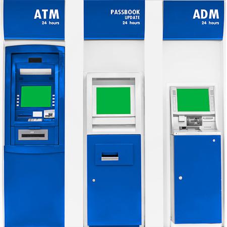 automatic transaction machine: punto de la m�quina bancaria autom�tica del servicio.