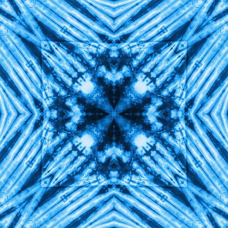 spectral colour: Abstract kaleidoscope or endless pattern for background used.