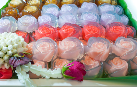 mould: Rose full color  jelly