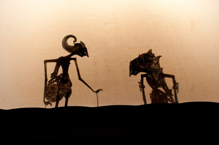 Wayang Kulit, Javanese theater of puppet Stock Photo - 12635018