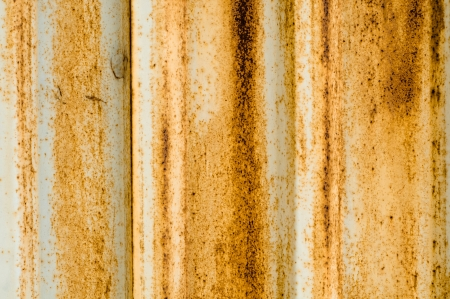 Rusty metal wall background  High resolution texture Stock Photo - 14478938