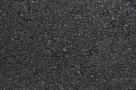 Photo of new asphalted surface background. Close up