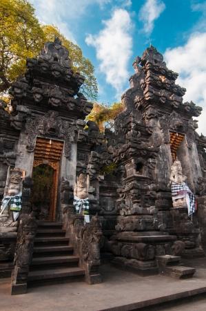 Traditional balinese temple - bat temple Goa Lawah, Bali, Indonesia Stock Photo - 16548312