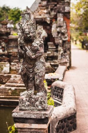 Statue in Pura Taman Ayun - hindu temple near Mengwi, Bali, Indonesia Stock Photo - 17428895