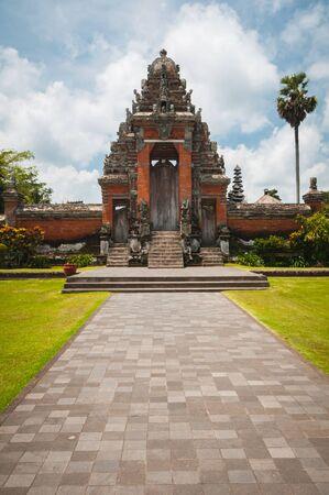 Main gate to Pura Taman Ayun - hindu temple near Mengwi, Bali, Indonesia