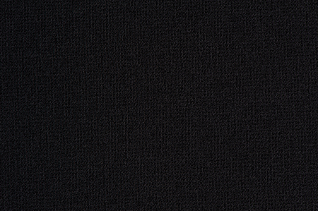 Black cloth with no folds texture closeup