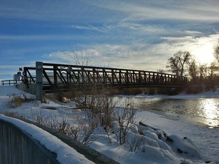 Gunnison River Whitewater Park Colorado Stock Photo